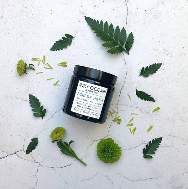 organic aromatherapy candle