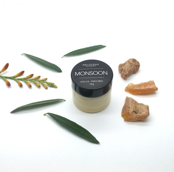 monsoon botanical solid perfume