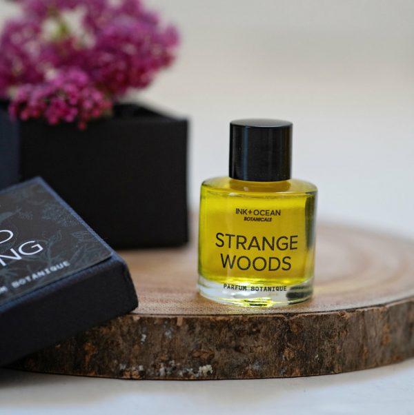 strange woods organic botanical perfume