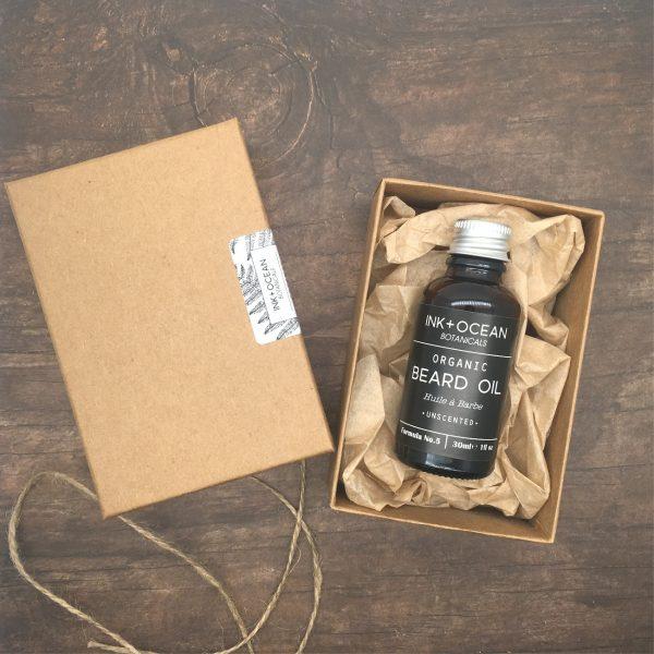 organic beard oil uncented