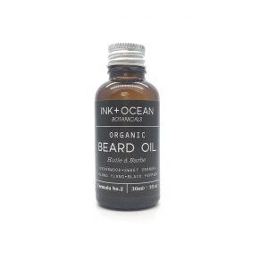 Organic beard oil