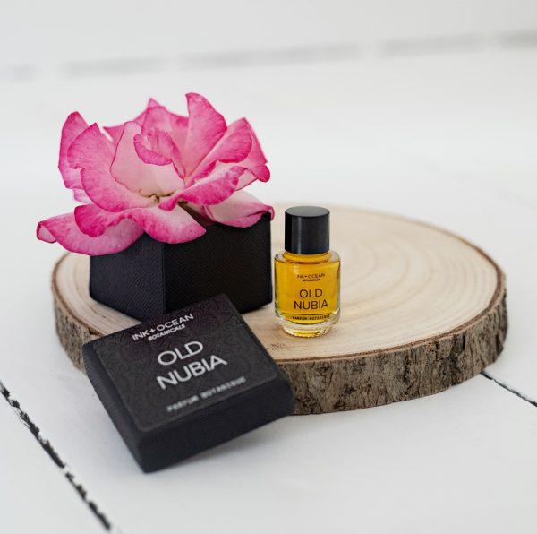 old nubia natural botanical perfume