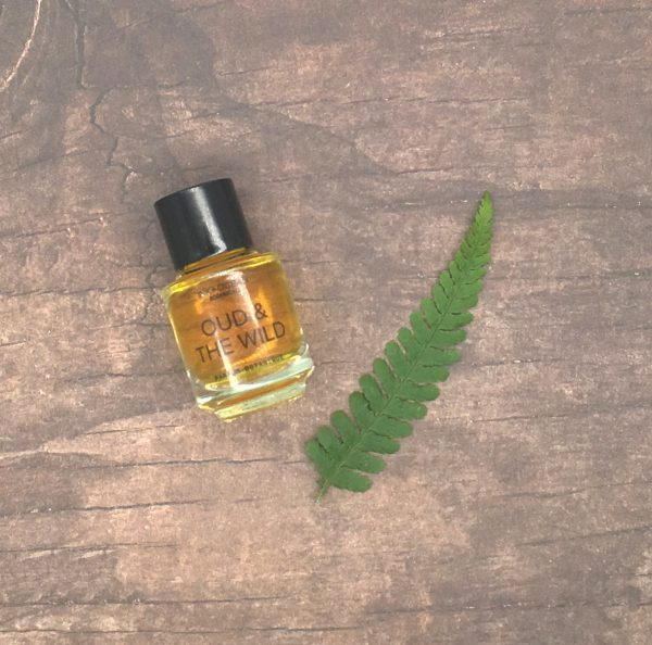 natural botanical oud perfume