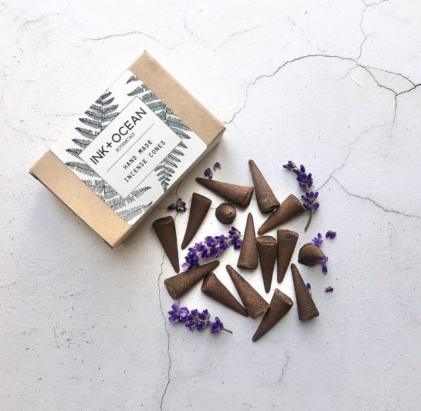 Lavender incense cones