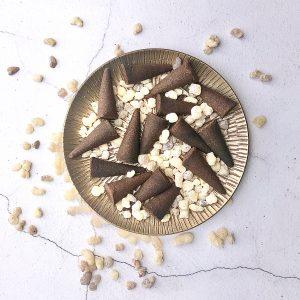 frankincense incense cone