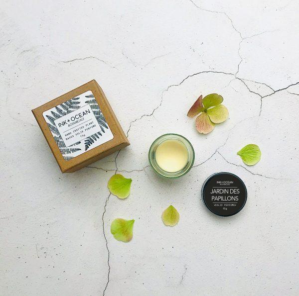 botanical solid perfume