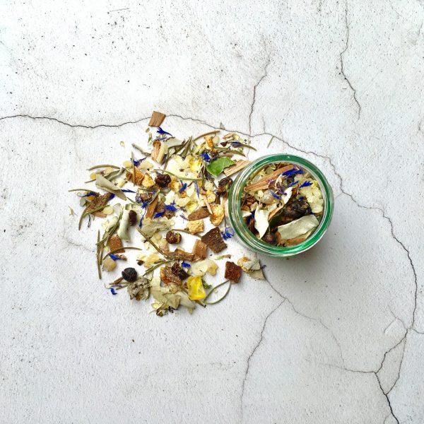 Grounding, Energising And Balancing loose incense