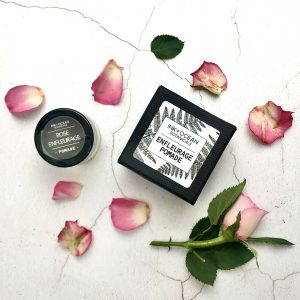 rose enfleurage pomade